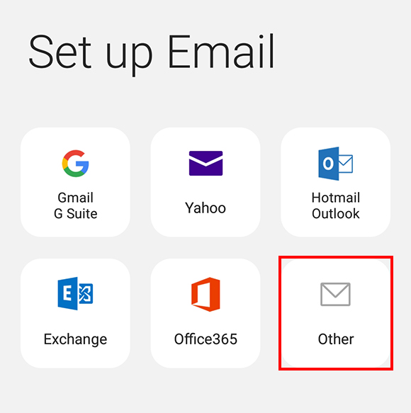 Email providers