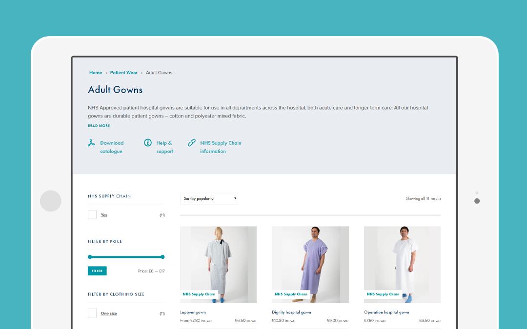 Interweave Textiles eCommerce platform