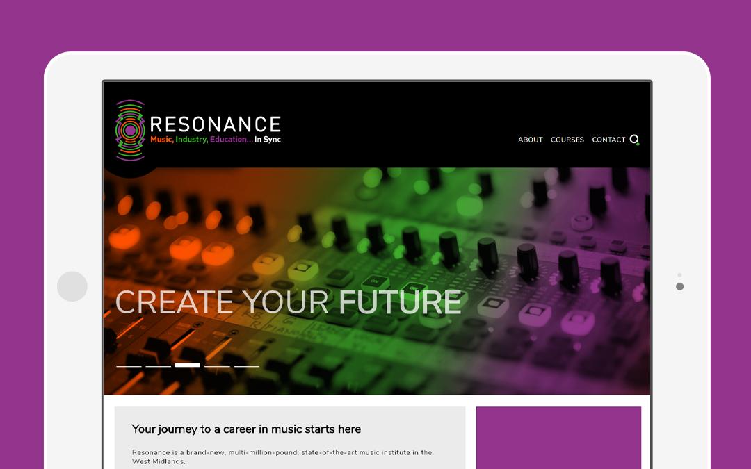 Resonance website