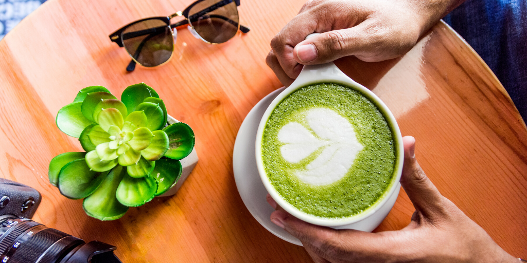 The brand tax and matcha tea